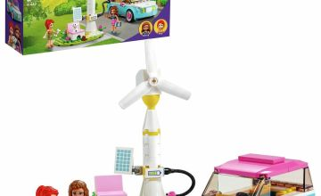 LEGO Friends Olivia's Electric Car Toy Eco Playset 41443
