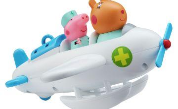 Peppa Pig and Dr Hamster Aeroplane and Figure Playset