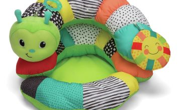 Infantino Tummy Time and Seated Support Playmat