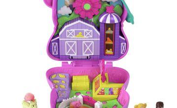 Polly Pocket On the Farm Piggy Compact
