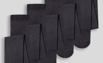 Navy Opaque Tights 5 Pack