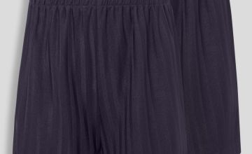 Navy Football Shorts 2 Pack