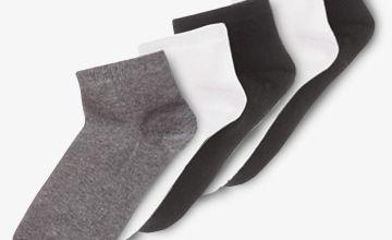 Multicoloured Trainer Socks 5 Pack