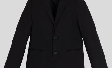 Black Stain Resistant Blazer
