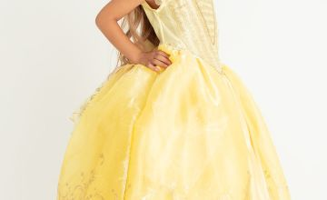 Disney Princess Belle Yellow Costume