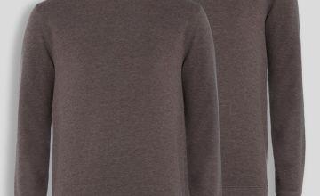 Jade Crew Neck Sweatshirt 2 Pack