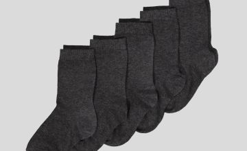 Grey Socks 5 Pack