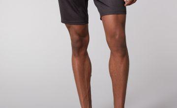 Charcoal Printed Shorts