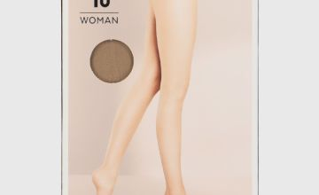Caramel Nude 10 Denier Tights 5 Pack