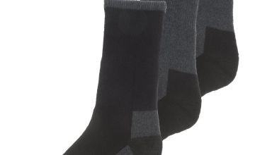 Grey Heavy Duty Work Socks 3 Pack