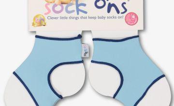 Baby Blue Sock Ons