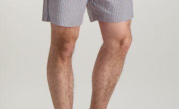 Blue & Red Pyjama Shorts