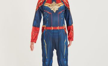 Online Exclusive Marvel Avengers Captain Marvel Costume