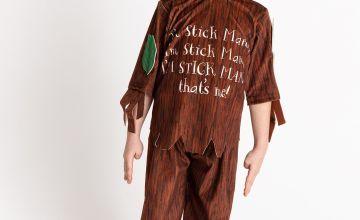 Stick Man Brown Costume