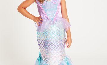 Disney Princess Ariel Lilac & Green Mermaid Costume Set