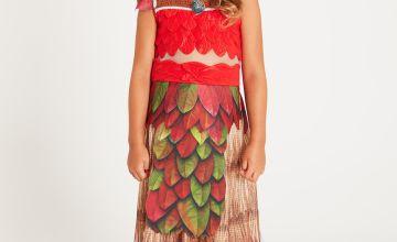 Disney Moana Red Coronation Dress Set