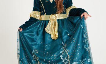 Online Exclusive Disney Princess Merida Green Costume