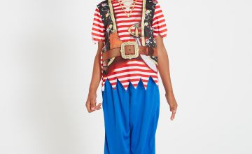 Stripy Pirate Costume