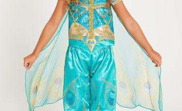 Disney Aladdin Princess Jasmine Green Costume
