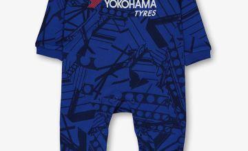 Online Exclusive Chelsea Football Club Blue Sleepsuit