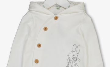 Peter Rabbit Cream Hooded Jacket - Up to 3 mths