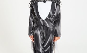Disney Jack Skellington Black Costume & Mask