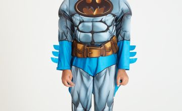 Batman Blue & Grey All In One Costume