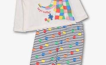 Elmer Multicoloured Pyjamas