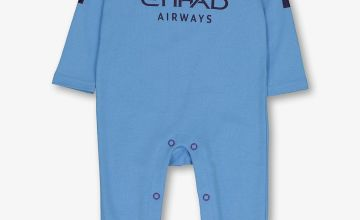 Man City Football Club Blue Sleepsuit