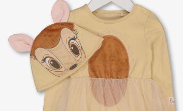 Disney Bambi Beige Tutu Bodysuit