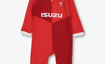 Wales Rugby Red Sleepsuit
