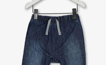 Blue Denim Chambray Jeans