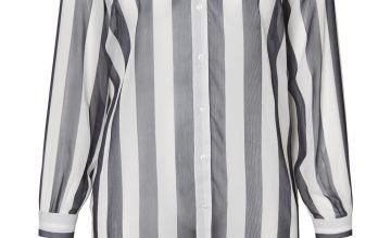 Black & White Striped Shirt