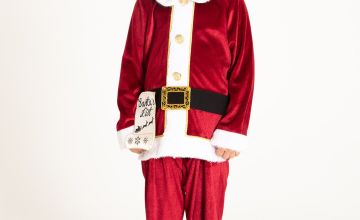 Christmas Red Santa Costume Set