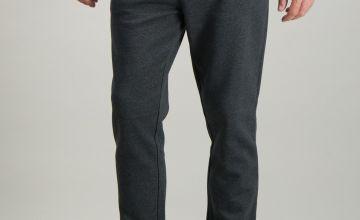 Charcoal Grey Regular Fit Joggers