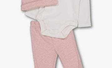 Pink & White 3 Piece Starter Set