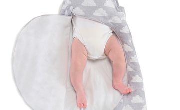 Online Exclusive SNÜZ Grey Cloud Sleep Bag