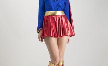 RUBIE'S DC Supergirl Red Costume Set