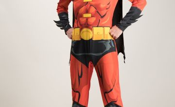 RUBIE'S Robin Red & Black Costume Set