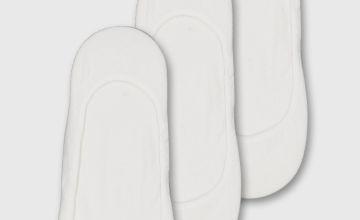 Classic White Footsie 3 Pack