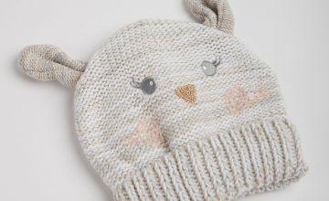 Oatmeal Bunny Beanie Hat