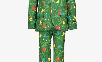 Christmas Tree Decoration Suit & Tie