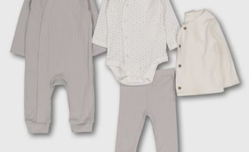 Grey 4 Piece Starter Set