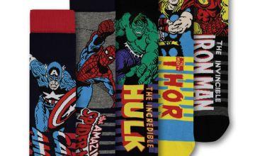 Marvel Avengers Multicoloured Socks 5 Pack