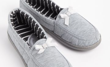 Grey Full Slippers With Arch Support