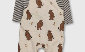 The Gruffalo Cream Dungarees & Bodysuit