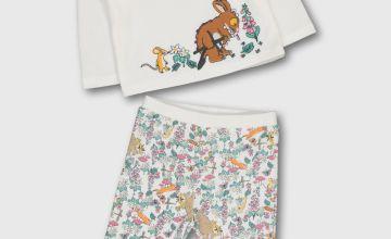 The Gruffalo Cream Printed Pyjamas