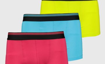 Solid Bright Neon Hipster 3 Pack