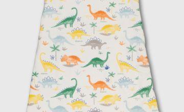 Multicoloured Dinosaur 1.5 Tog Sleeping Bag