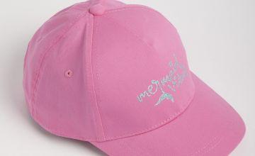 Pink 'Mermaid' Fashion Cap